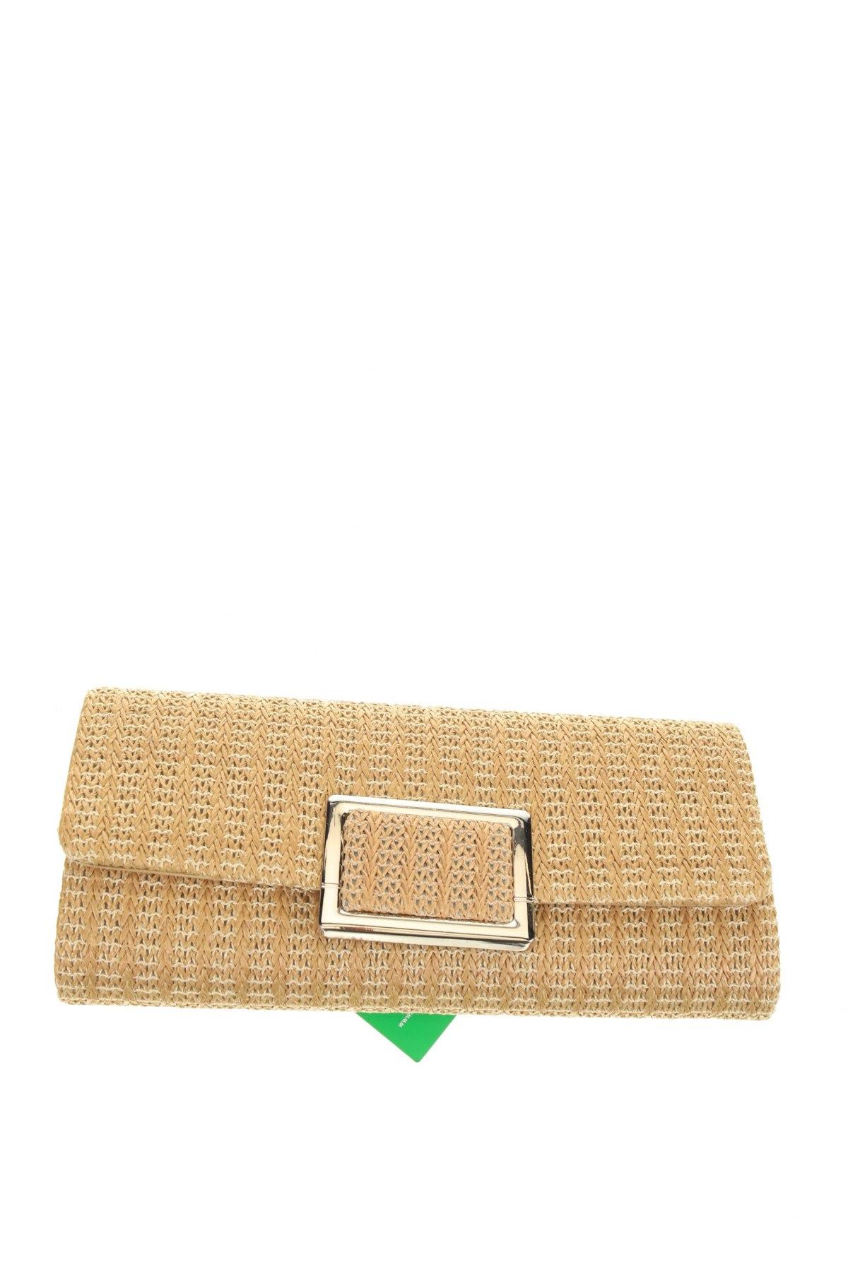 Дамска чанта Verde, Цвят Бежов, Текстил, Цена 10,03лв.