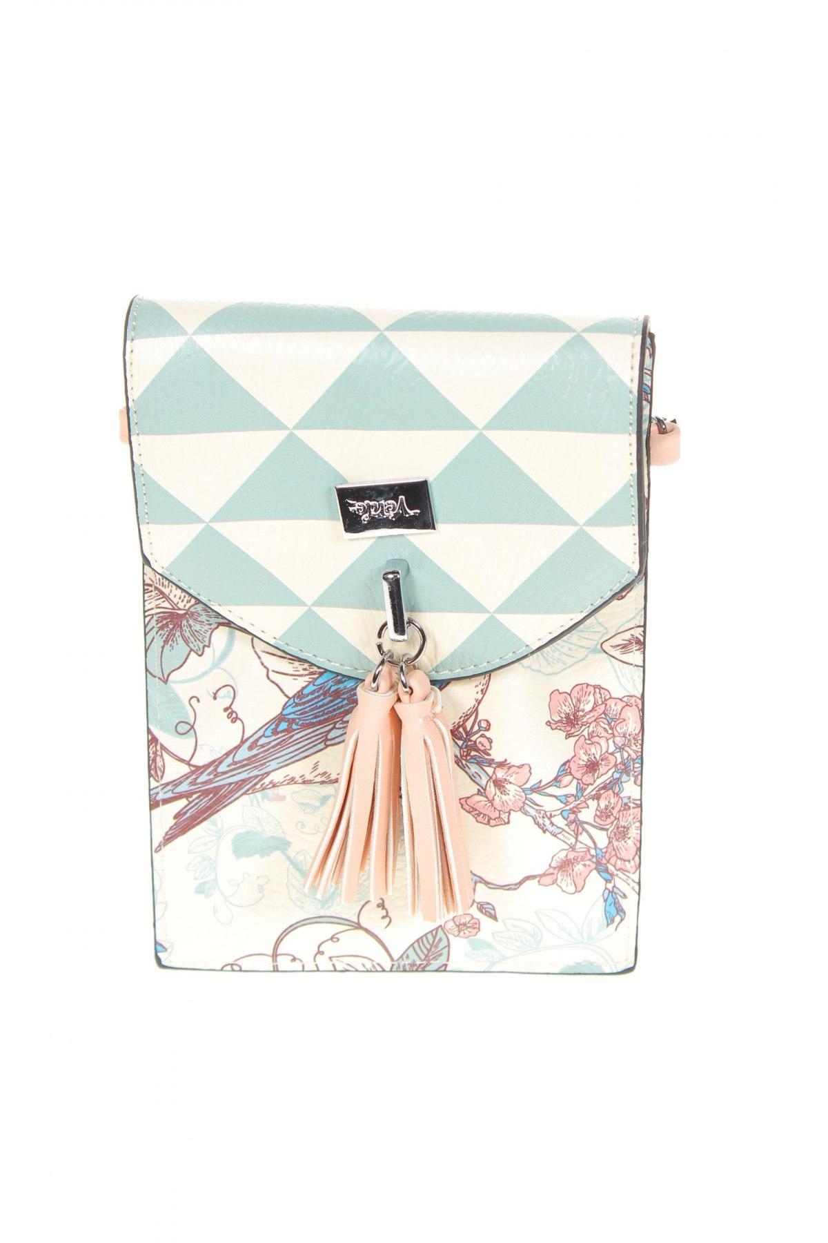 Дамска чанта Verde, Цвят Многоцветен, Еко кожа, Цена 24,96лв.