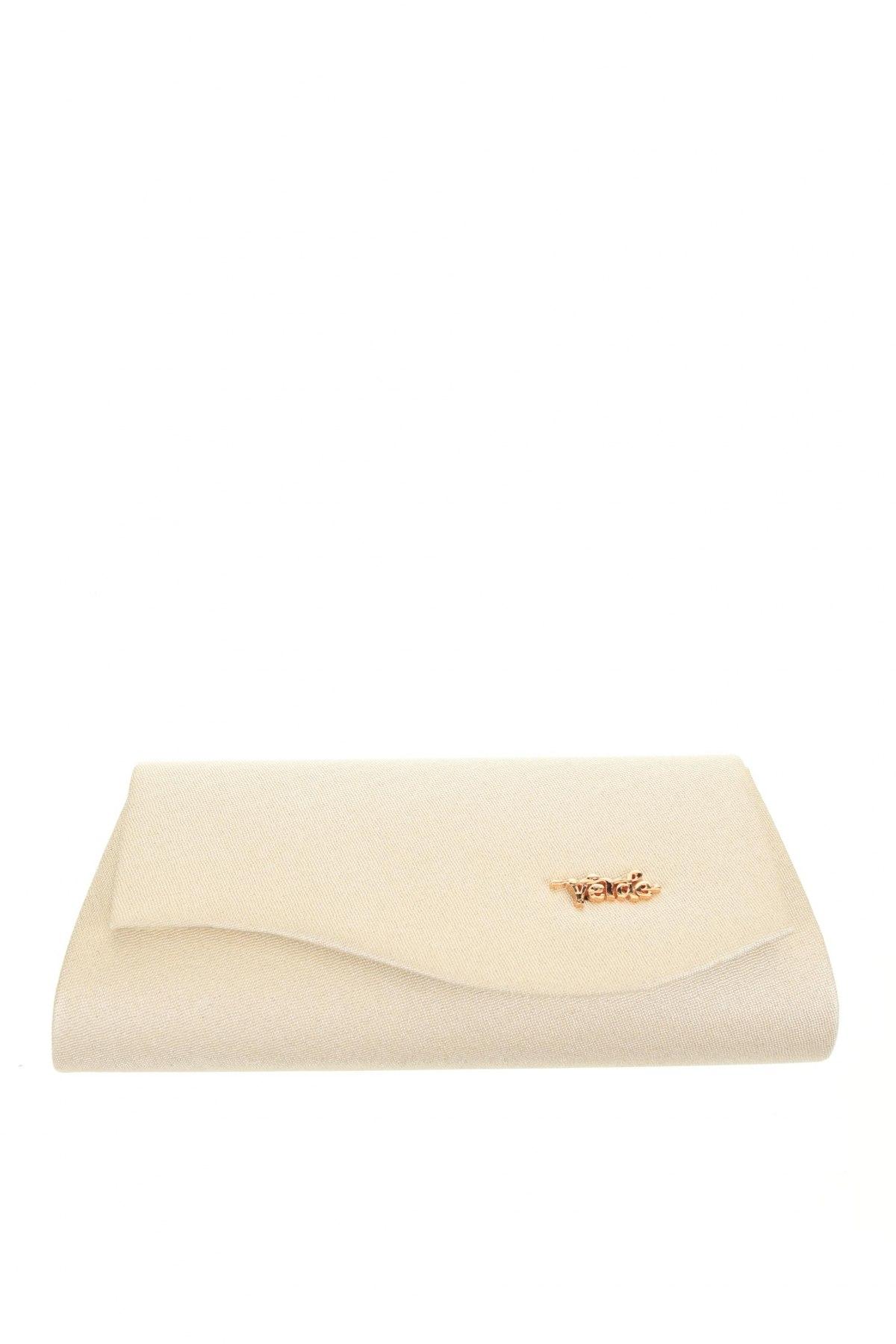 Дамска чанта Verde, Цвят Екрю, Текстил, Цена 8,26лв.