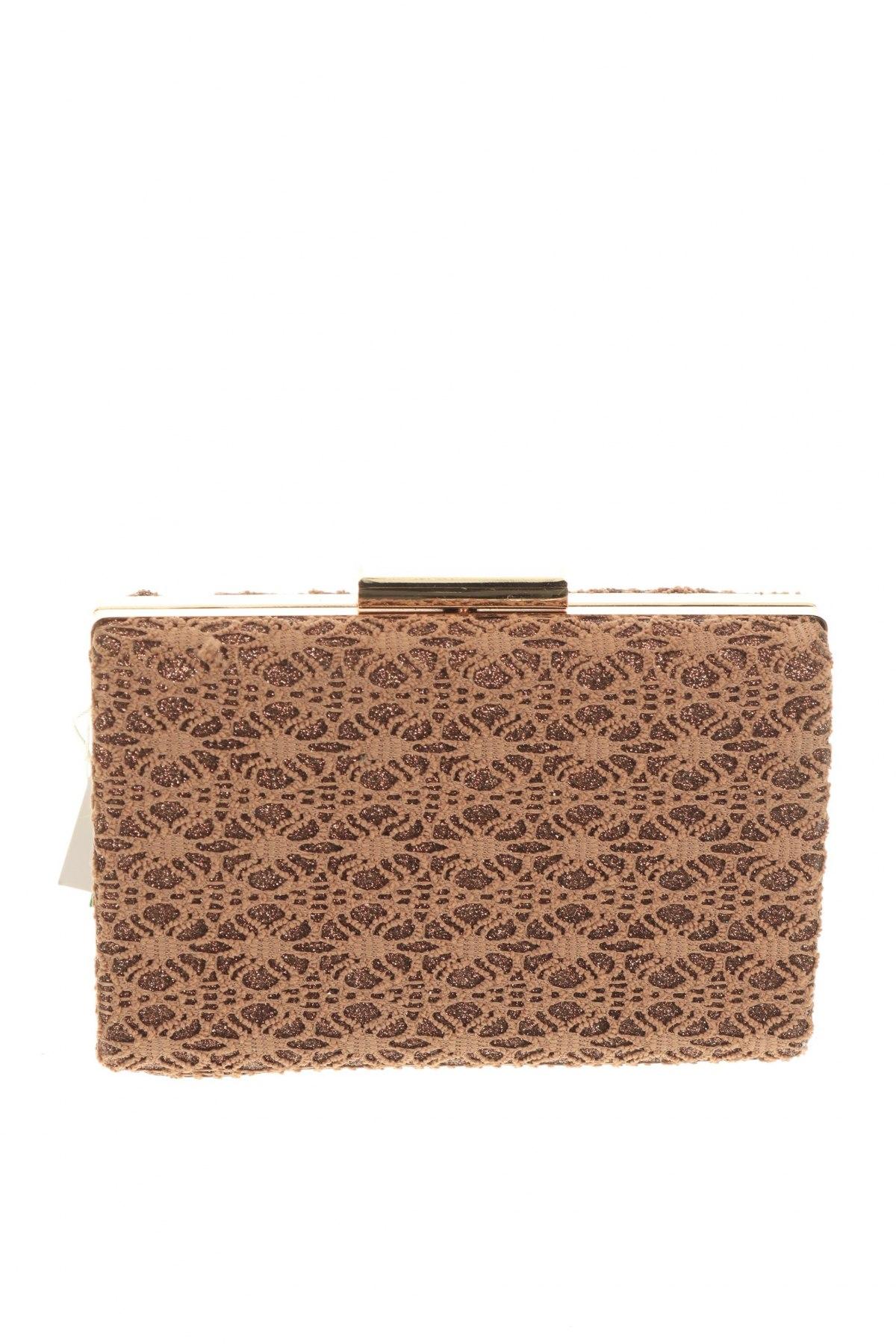 Дамска чанта Verde, Цвят Кафяв, Текстил, Цена 12,25лв.