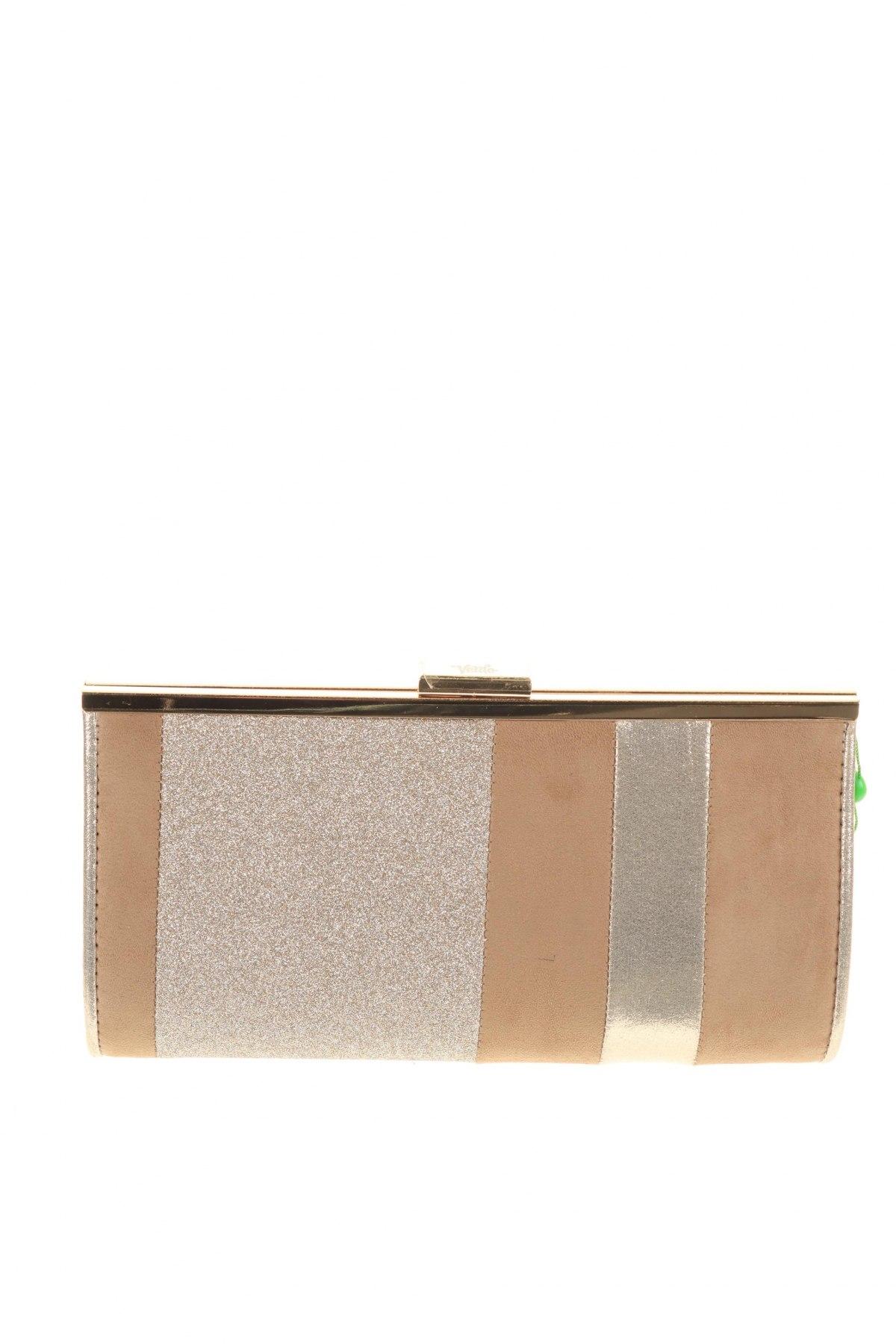 Дамска чанта Verde, Цвят Бежов, Текстил, Цена 14,75лв.