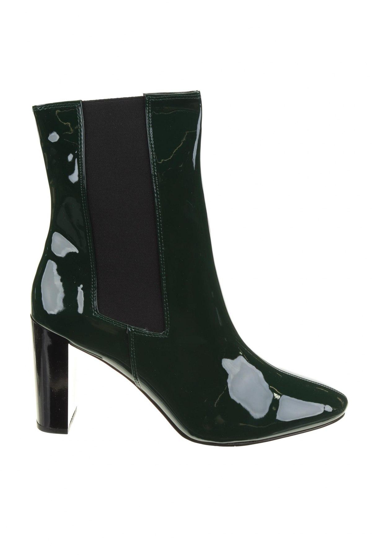 Дамски боти Michelle Keegan, Размер 41, Цвят Зелен, Еко кожа, Цена 79,00лв.