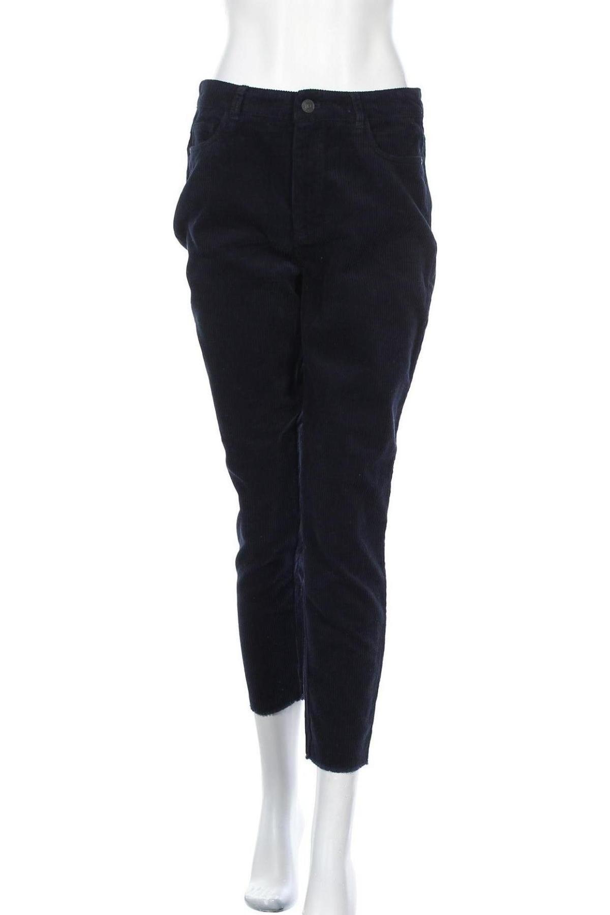 Дамски джинси ONLY, Размер M, Цвят Син, Памук, Цена 24,64лв.