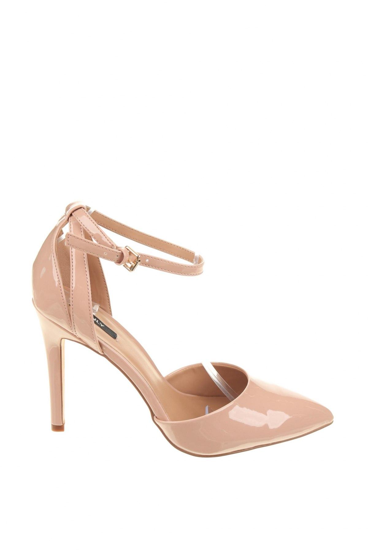 Дамски обувки ONLY, Размер 40, Цвят Розов, Еко кожа, Цена 30,36лв.