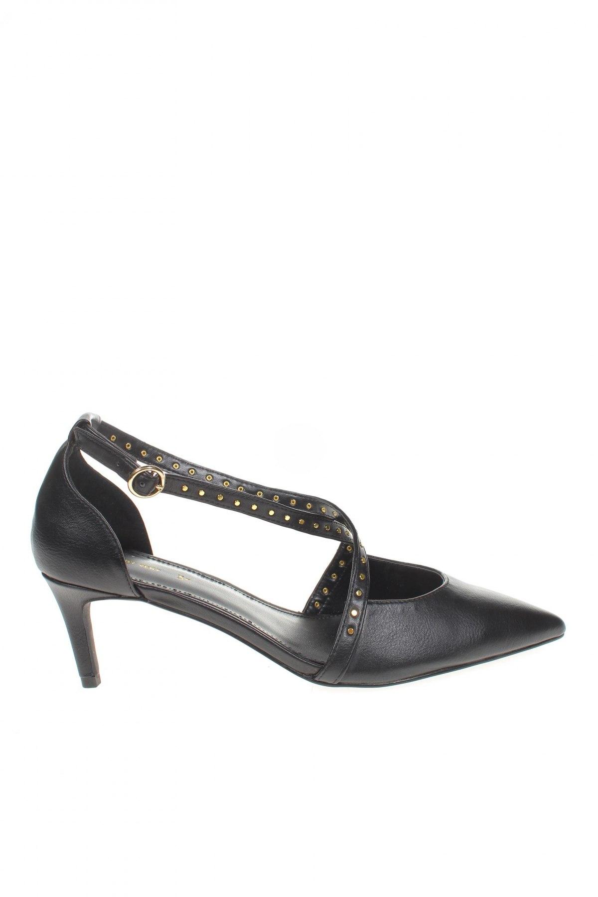 Дамски обувки V by Very, Размер 39, Цвят Черен, Еко кожа, Цена 33,81лв.