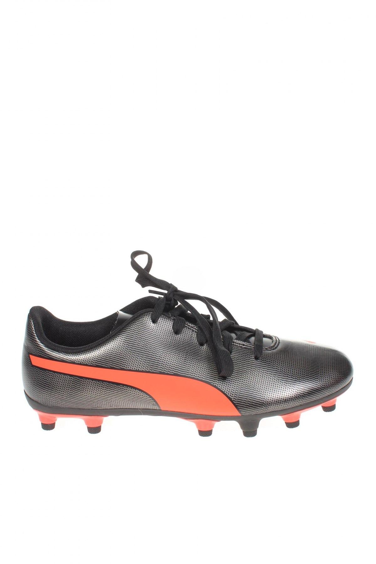 Детски обувки PUMA, Размер 35, Цвят Черен, Еко кожа, Цена 24,71лв.