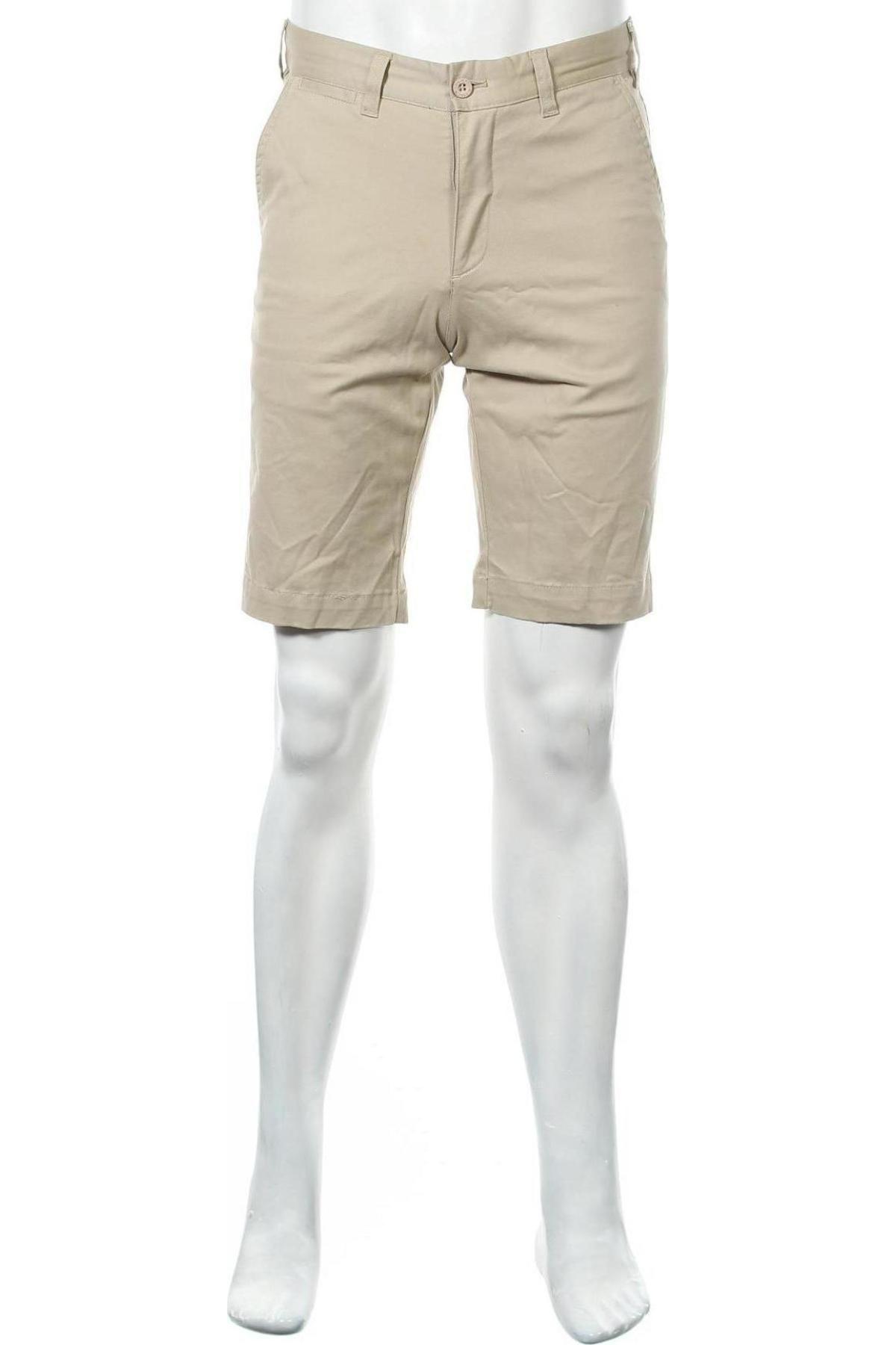 Мъжки къс панталон Lois, Размер M, Цвят Бежов, 98% памук, 2% еластан, Цена 24,65лв.