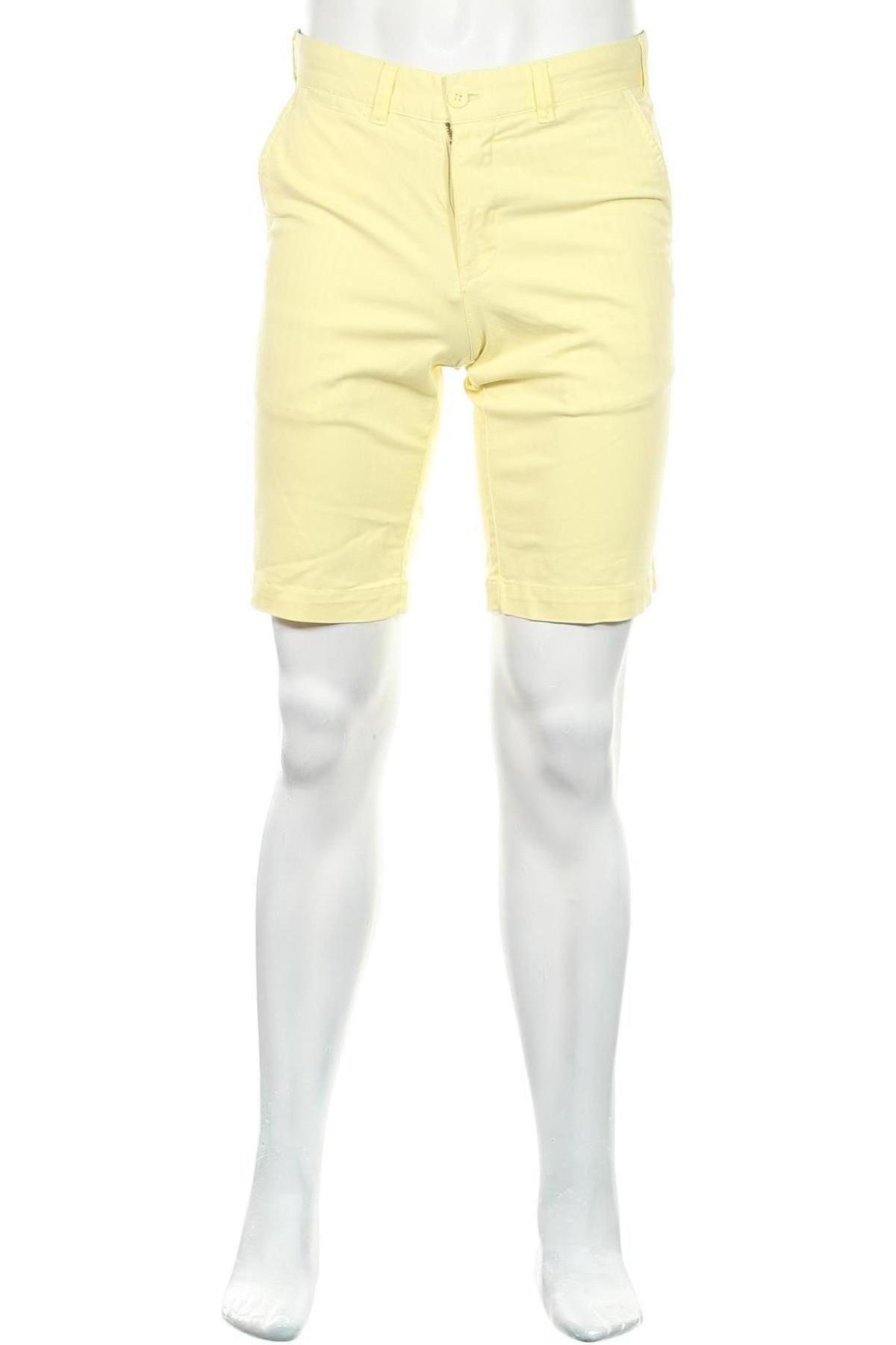 Мъжки къс панталон Lois, Размер M, Цвят Жълт, 98% памук, 2% еластан, Цена 59,25лв.
