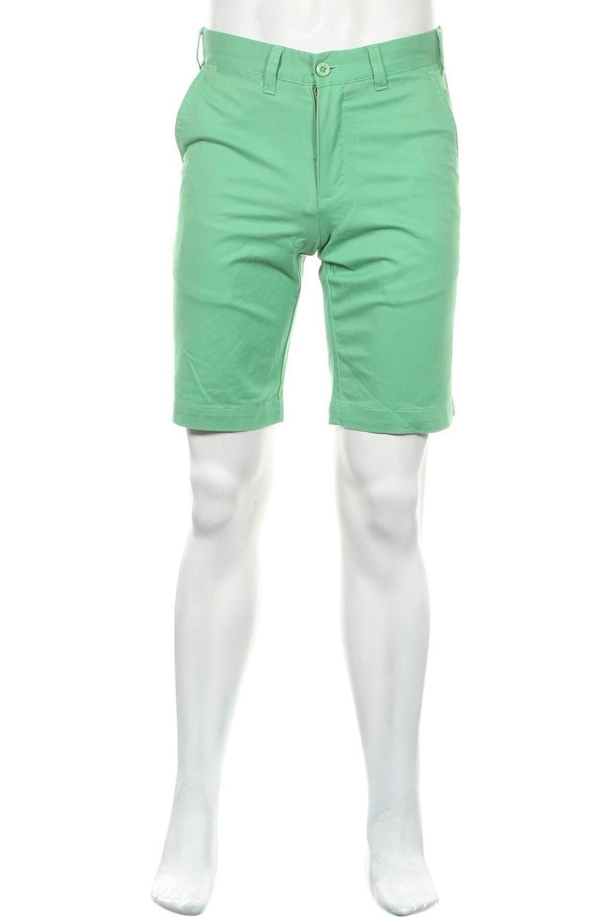 Мъжки къс панталон Lois, Размер M, Цвят Зелен, 98% памук, 2% еластан, Цена 27,05лв.