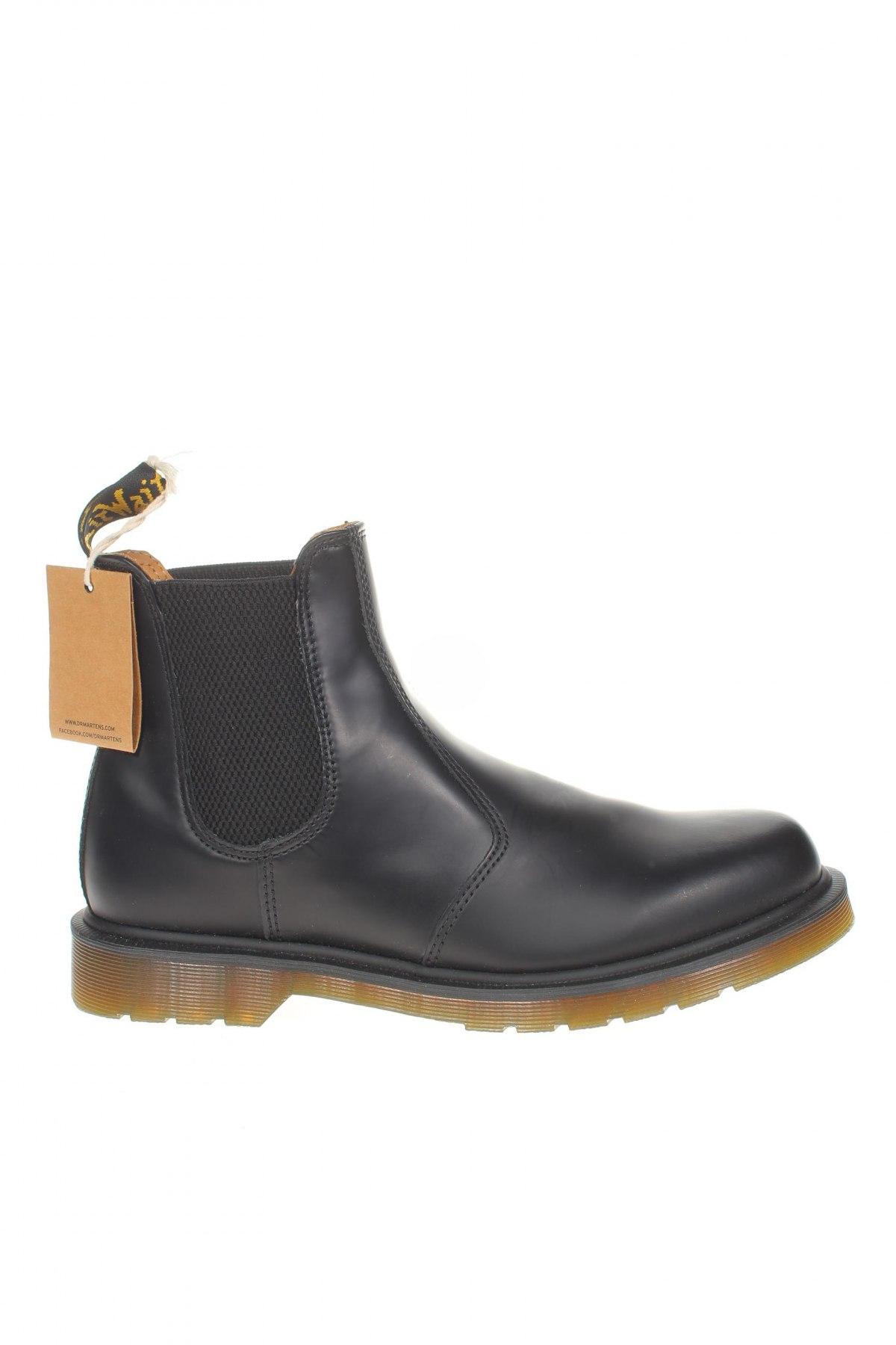 Мъжки обувки Dr. Martens, Размер 43, Цвят Черен, Естествена кожа, Цена 339,00лв.