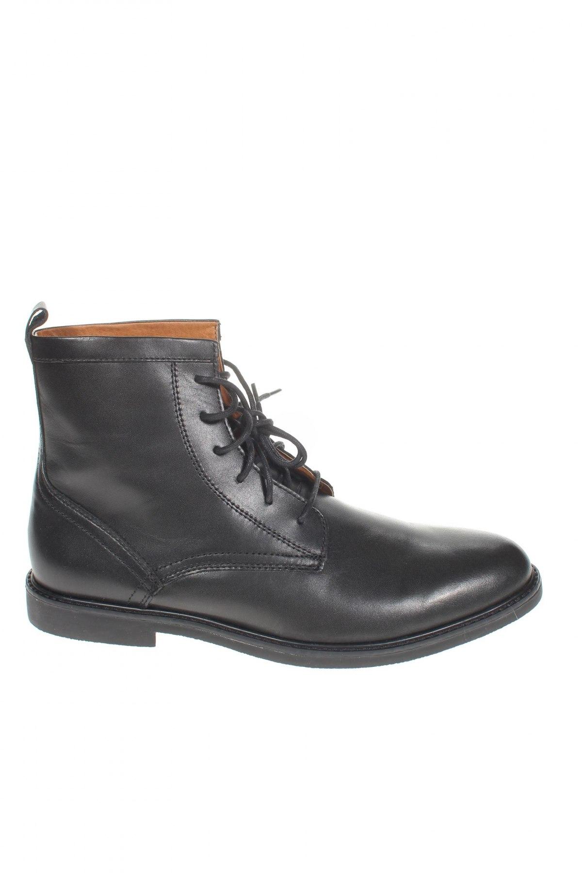 Мъжки обувки Zign, Размер 43, Цвят Черен, Естествена кожа, Цена 159,00лв.