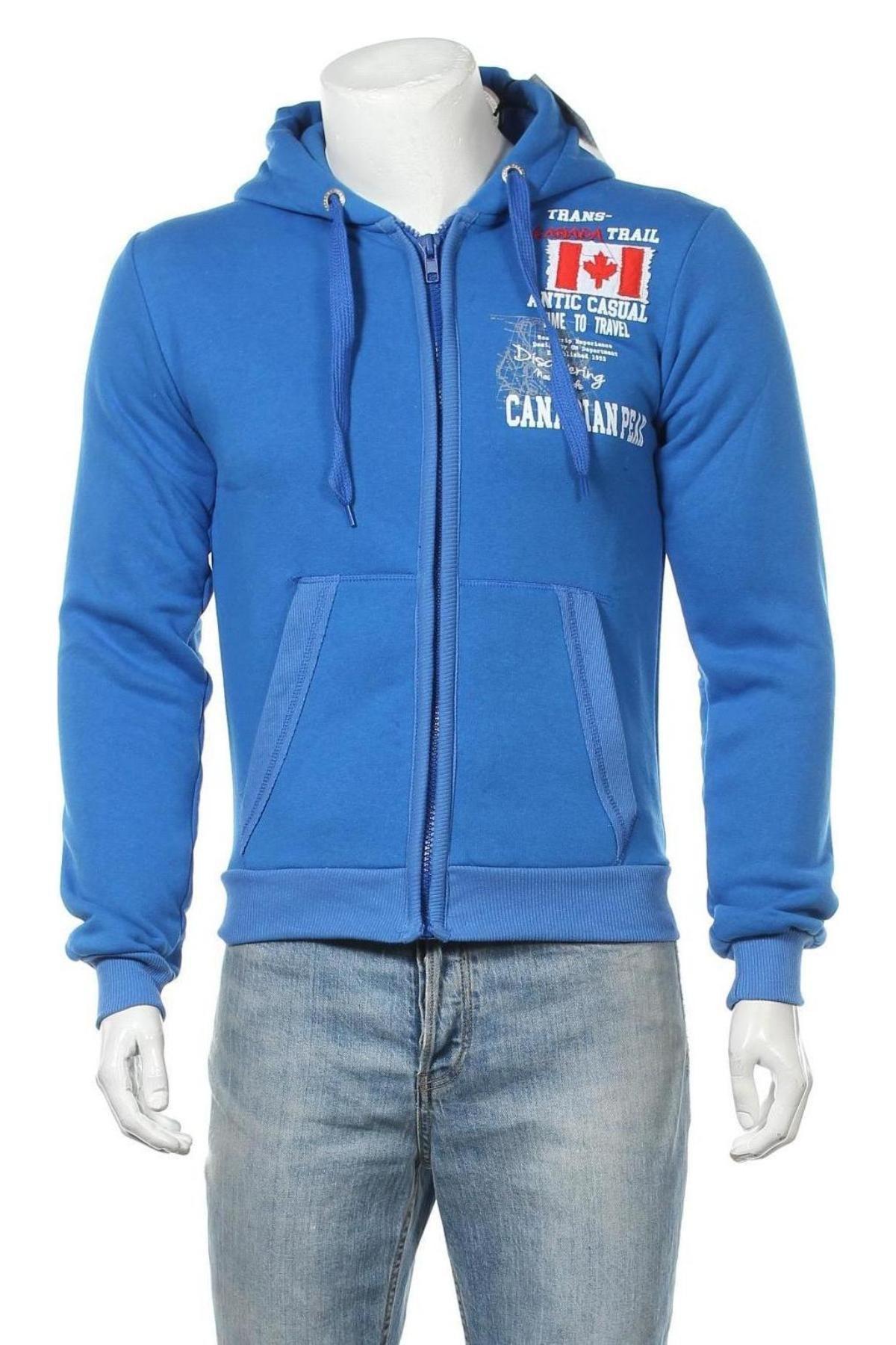 Мъжки суичър Canadian Peak, Размер S, Цвят Син, Цена 36,27лв.