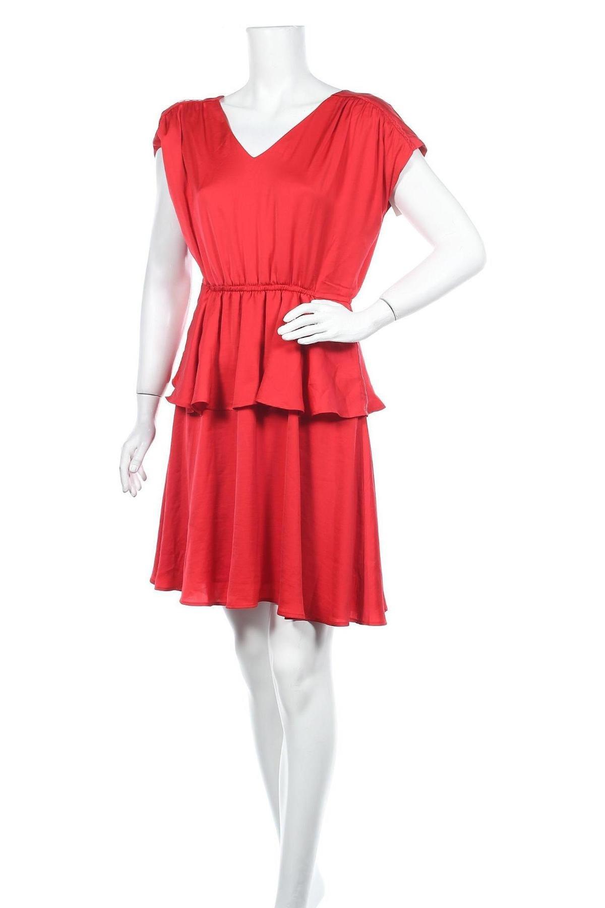 Рокля Modstrom, Размер S, Цвят Червен, Полиестер, Цена 96,75лв.