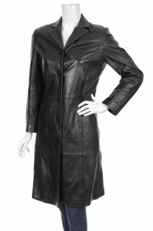 Дамски кожен шлифер Zara