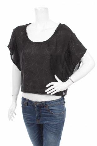 Дамска блуза Dotti, Размер XS, Цвят Черен, 100% полиестер, Цена 4,50лв.