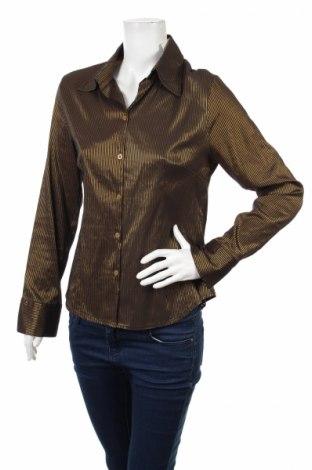 Γυναικείο πουκάμισο, Μέγεθος M, Χρώμα Χρυσαφί, Τιμή 18,04€
