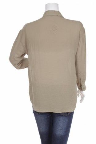 Γυναικείο πουκάμισο Uniqlo, Μέγεθος M, Χρώμα Πράσινο, 100% πολυεστέρας, Τιμή 15,46€