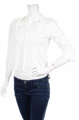 Γυναικείο πουκάμισο, Μέγεθος M, Χρώμα Λευκό, 98% βαμβάκι, 2% ελαστάνη, Τιμή 21,13€