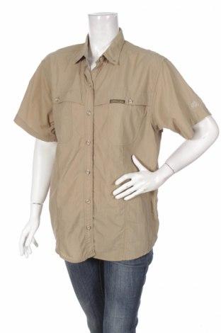 Дамска риза Active Wear, Размер M, Цвят Кафяв, 100% полиамид, Цена 6,48лв.