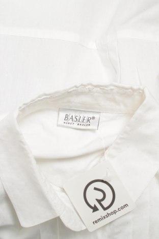 Γυναικείο πουκάμισο Basler, Μέγεθος L, Χρώμα Λευκό, 100% βαμβάκι, Τιμή 18,56€