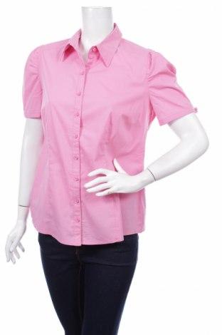 Γυναικείο πουκάμισο Betty Barclay, Μέγεθος L, Χρώμα Ρόζ , 68% βαμβάκι, 27% πολυαμίδη, 5% ελαστάνη, Τιμή 12,89€