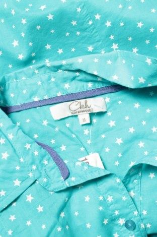 Γυναικείο πουκάμισο Clockhouse, Μέγεθος M, Χρώμα Μπλέ, Βαμβάκι, Τιμή 11,34€