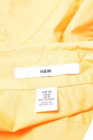 Γυναικείο πουκάμισο H&M, Μέγεθος M, Χρώμα Πορτοκαλί, 96% βαμβάκι, 4% ελαστάνη, Τιμή 11,86€