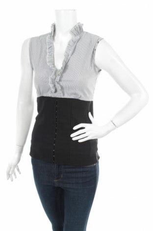 Γυναικείο πουκάμισο Kays, Μέγεθος S, Χρώμα Γκρί, 64% βαμβάκι, 31% πολυαμίδη, 5% ελαστάνη, Τιμή 3,85€