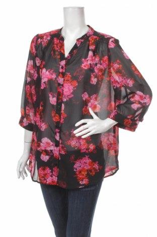 Γυναικείο πουκάμισο Millers, Μέγεθος XXL, Χρώμα Μαύρο, 100% πολυεστέρας, Τιμή 12,37€