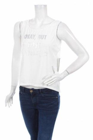 Γυναικείο αμάνικο μπλουζάκι Jessica Simpson, Μέγεθος L, Χρώμα Λευκό, 9% πολυεστέρας, 5% ελαστάνη, Τιμή 4,69€