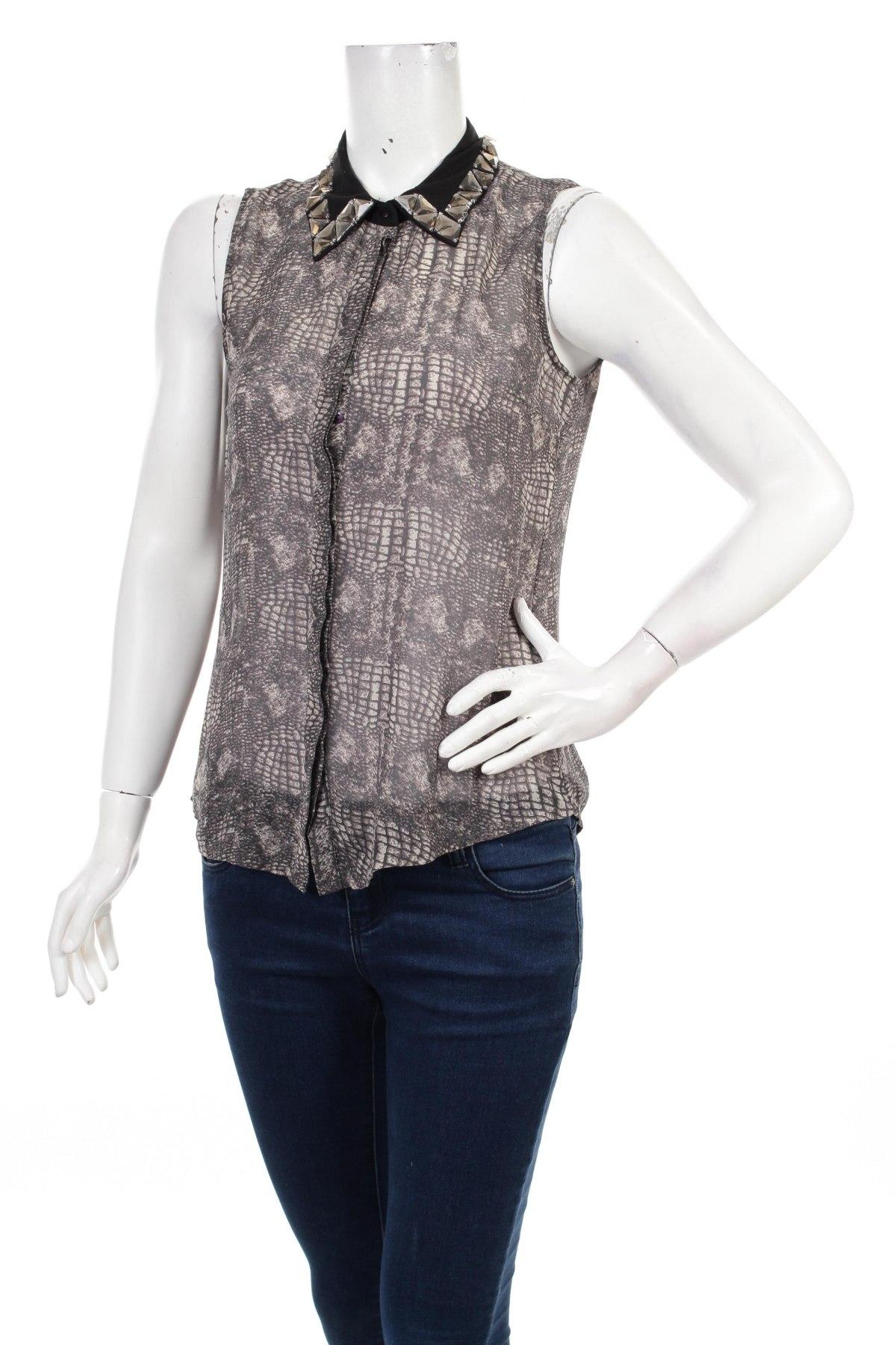 Γυναικείο πουκάμισο Vero Moda, Μέγεθος M, Χρώμα Πολύχρωμο, Τιμή 10,82€