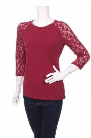 Дамска блуза Express, Размер L, Цвят Червен, 95% памук, 5% еластан, Цена 5,00лв.