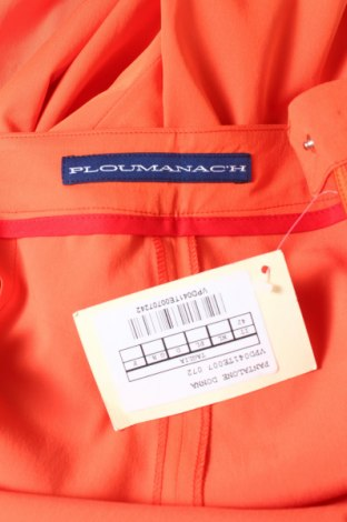 Дамски панталон PLOUMANAC'H, Размер M, Цвят Оранжев, 62% вискоза, 35% полиестер, 3% еластан, Цена 184,60лв.