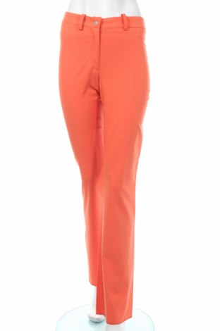 Дамски панталон PLOUMANAC'H, Размер S, Цвят Оранжев, 62% вискоза, 35% полиестер, 3% еластан, Цена 33,83лв.