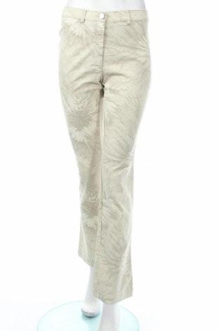Дамски панталон PLOUMANAC'H, Размер M, Цвят Бежов, 98% памук, 2% еластан, Цена 31,02лв.