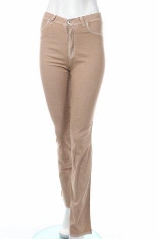 Дамски панталон PLOUMANAC'H, Размер S, Цвят Кафяв, 72% памук, 24% полиестер, 4% еластан, Цена 41,81лв.