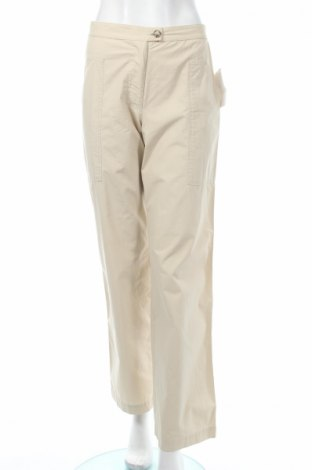 Дамски панталон PLOUMANAC'H, Размер S, Цвят Бежов, Памук, Цена 28,21лв.