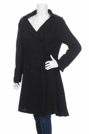 Дамско палто Lee Cooper, Размер L, Цвят Черен, 50% вискоза, 45% коприна, 5% вълна, Цена 32,80лв.