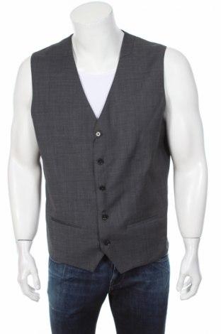 Pánska vesta  Premium By Jack & Jones, Veľkosť XL, Farba Sivá, 77% polyester, 22% vlna, 1% elastan, Cena  10,41€