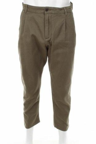 Мъжки панталон Jack & Jones, Размер M, Цвят Зелен, Памук, Цена 5,00лв.