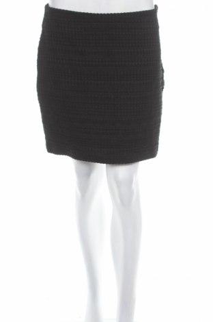 Пола H&M, Размер L, Цвят Черен, 78% памук, 22% полиестер, Цена 5,72лв.