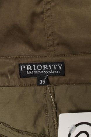 Пола Priority, Размер S, Цвят Зелен, 70% памук, 30% полиамид, Цена 17,85лв.