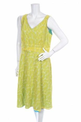 Рокля Amanda Lane, Размер XL, Цвят Жълт, Памук, Цена 3,06лв.