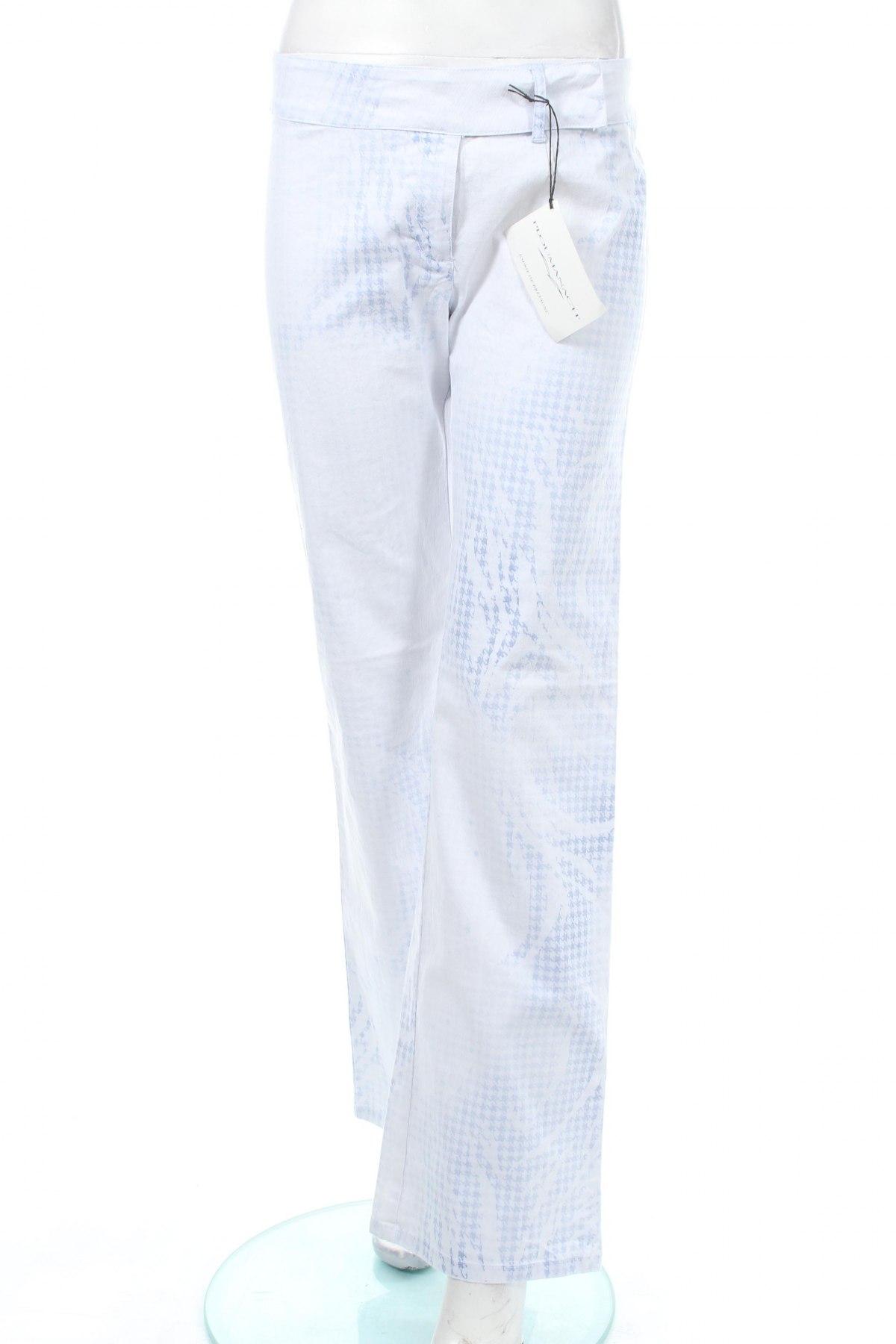Дамски дънки PLOUMANAC'H, Размер M, Цвят Син, 75% памук, 23% полиестер, 2% еластан, Цена 36,64лв.