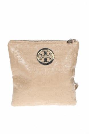 Γυναικεία τσάντα, Χρώμα  Μπέζ, Δερματίνη, Τιμή 19,12€
