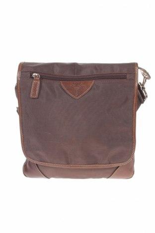 Чанта Joop!, Цвят Кафяв, Текстил, естествена кожа, Цена 56,16лв.