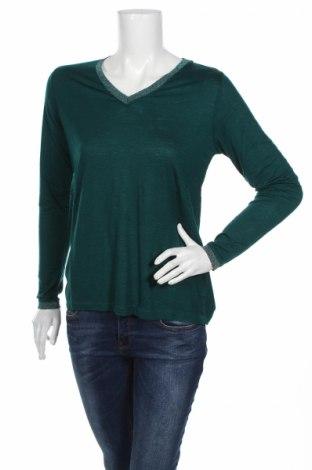 Дамска блуза An'ge, Размер S, Цвят Зелен, 96% вискоза, 4% еластан, Цена 22,26лв.