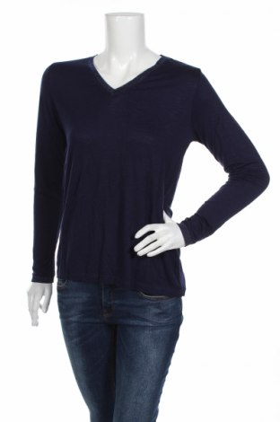 Дамска блуза An'ge, Размер S, Цвят Син, 96% вискоза, 4% еластан, Цена 24,36лв.