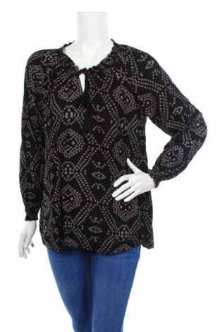 Дамска блуза Antik Batik, Размер L, Цвят Черен, Вискоза, Цена 47,17лв.