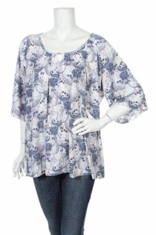Дамска блуза Beme, Размер M, Цвят Многоцветен, Полиестер, еластан, Цена 4,46лв.